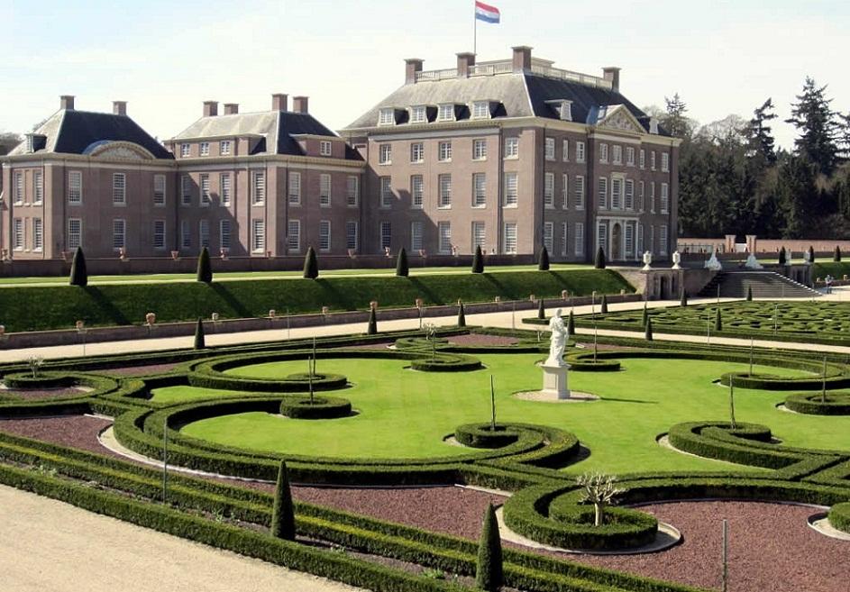 Bedrijfsuitje Apeldoorn Paleis het Loo Tuin