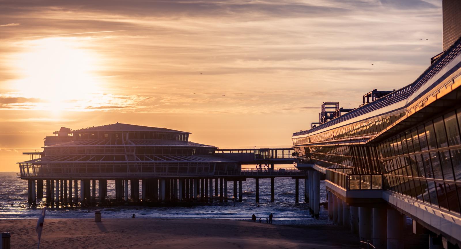 Bedrijfsuitje Zuid Holland Scheveningen strand Pier