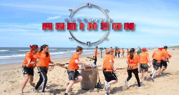 Actief en sportief bedrijfsuitje Expeditie Robinson indoor en outdoor