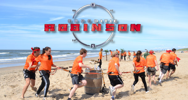 Expeditie Robinson Zuid Holland Beach Scheveningen