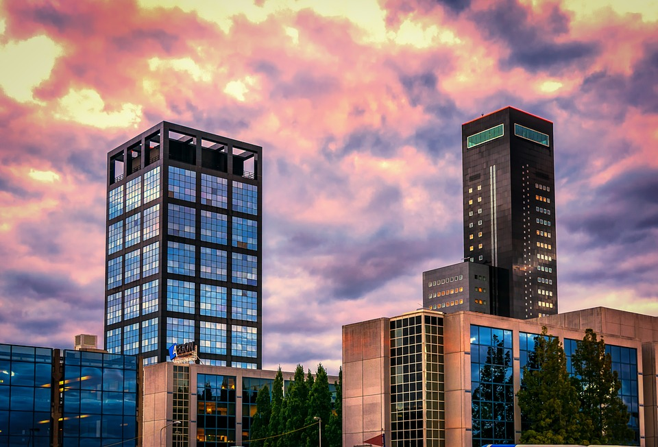 Leeuwarden Bedrijfsuitje Skyline Uitzicht Zonsondergang
