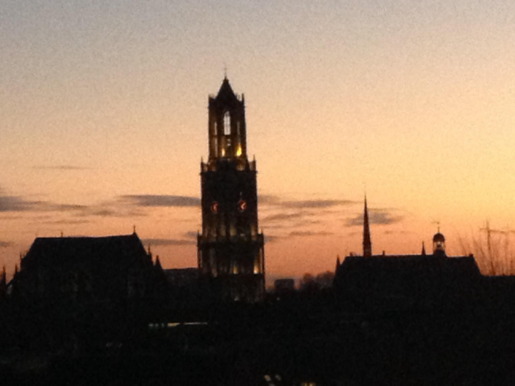 Personeelsuitje Utrecht Domtoren Dom Domplein Skyline