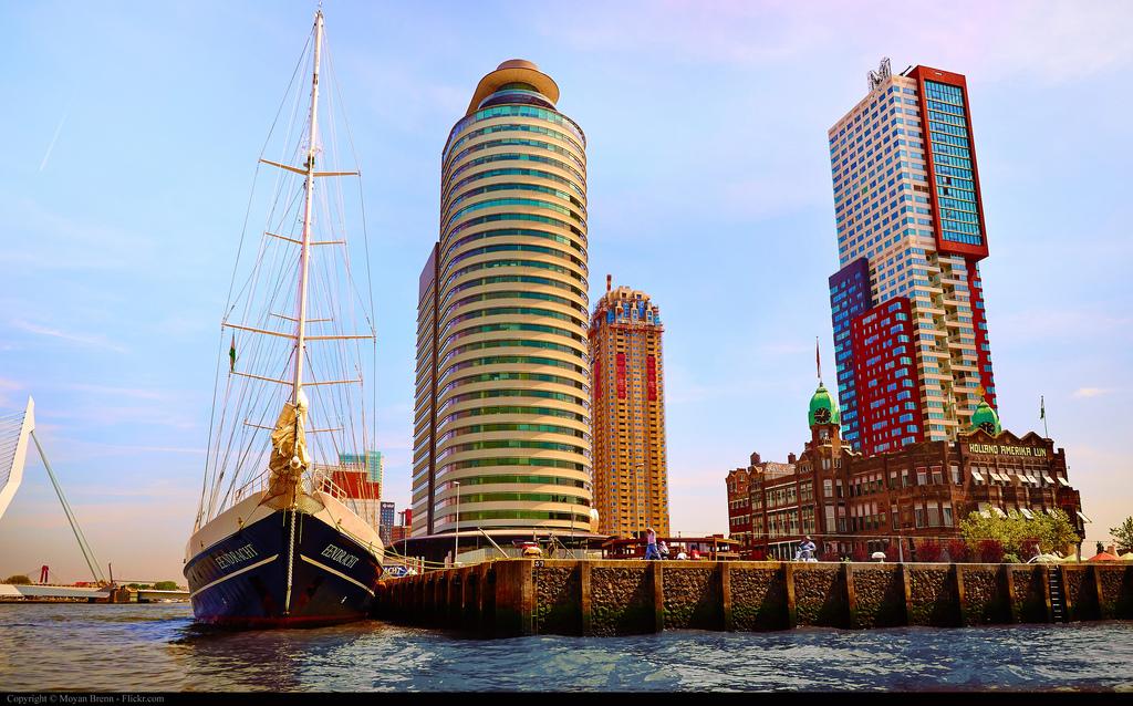 Personeelsuitje Zuid Holland Rotterdam Euromast
