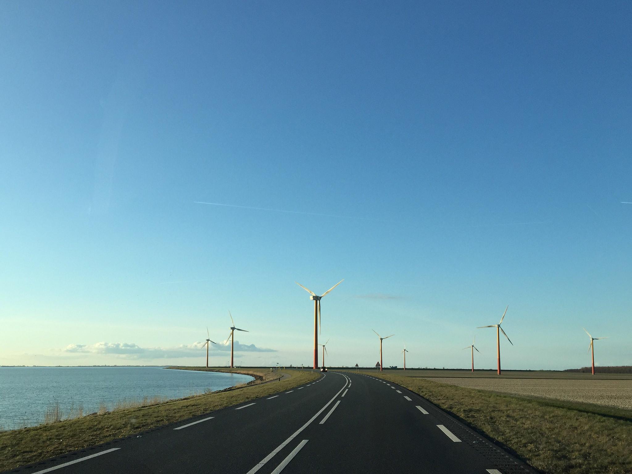 Teambuilding Lelystad Afsluitdijk Uitzicht Water