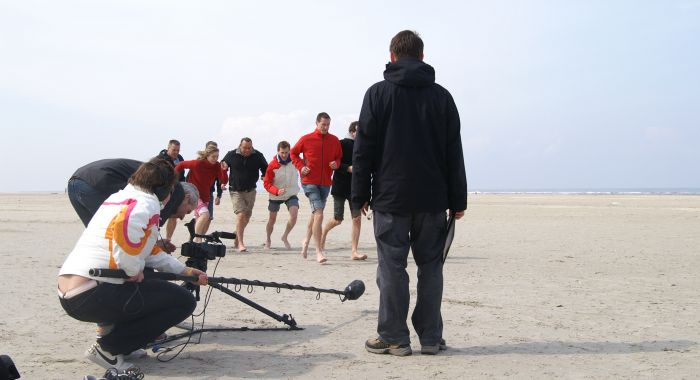 "Teambuilding Haarlem: Workshop ""Video commercial zelf produceren"""