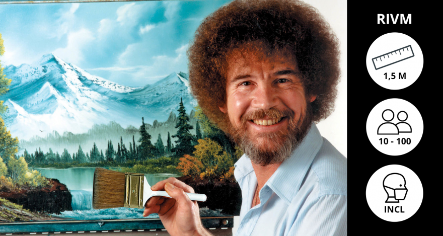 Online Bob Ross schilderworkshop