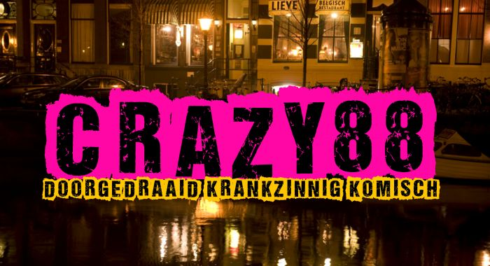 Workshop Groningen: Knotsgekke Crazy 88 Walking Diner Spel
