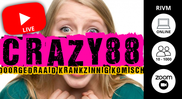Workshop Maastricht: Bekend van TV: Crazy 88
