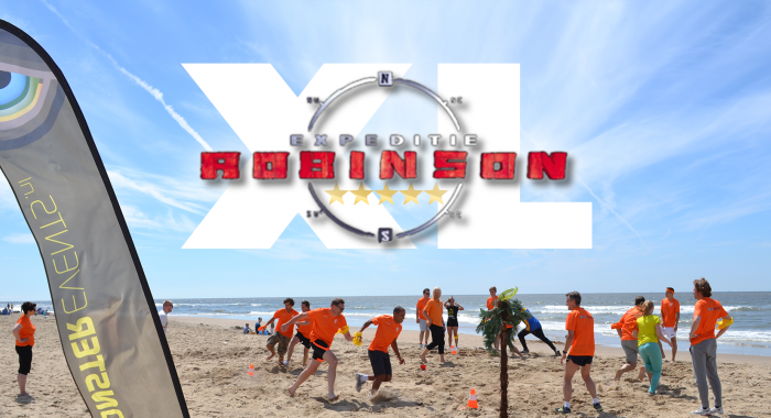 Strand teambuilding: Expeditie Robinson XL