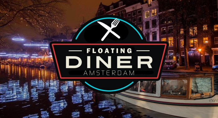 Cultureel teamuitje: Floating diner