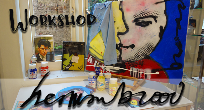 Outdoor groepsuitje: Herman Brood Schilderworkshop