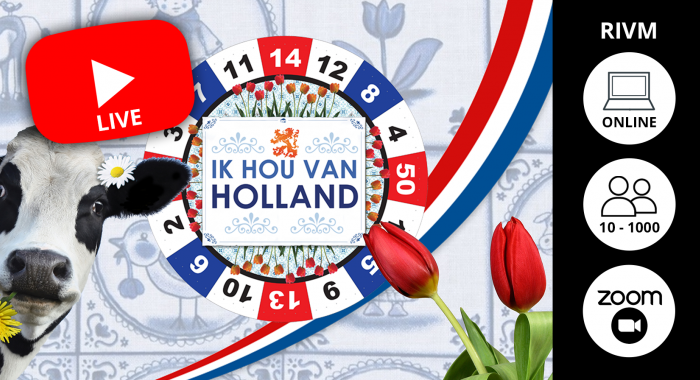 Indoor: Online Ik hou van Holland Quiz