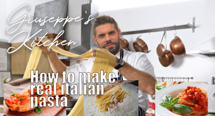 "Outdoor groepsuitje: Italiaanse online kookworkshop ""Making Pasta"""