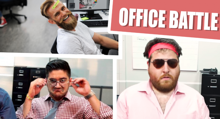 Creatief teamuitje: De Office Battle