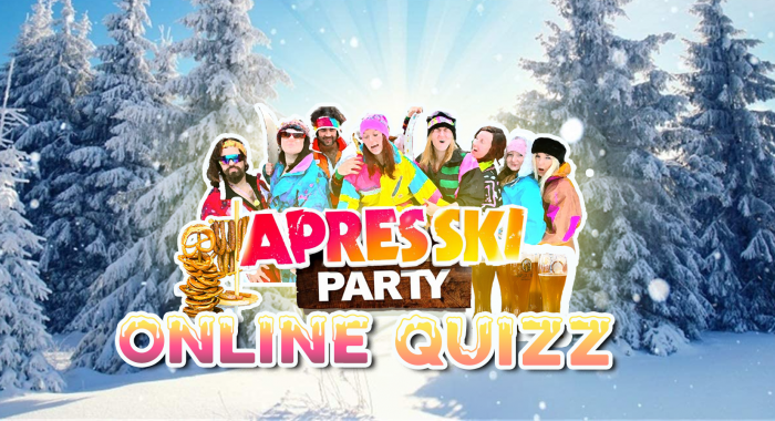 Teamuitje Amsterdam: Online Apres-ski party quiz