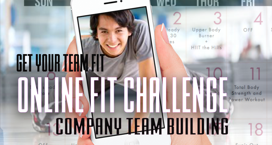 Online team fit challenge