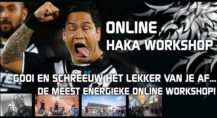 Drenthe: Online Haka Workshop