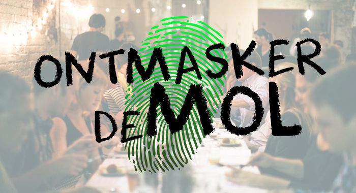 Workshop Assen: Ontmasker de Mol Dinerspel