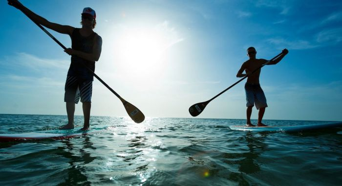 Teambuilding Wijk aan Zee: Stand Up Paddle Boarden - Suppen