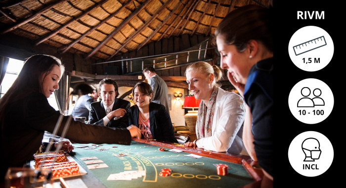 Teambuilding Leeuwarden: Poker Workshop