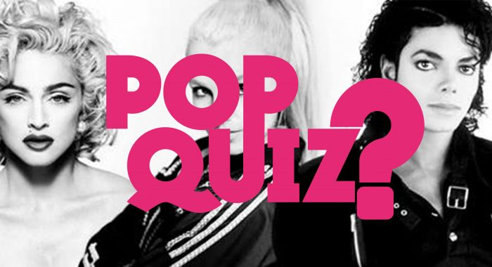 Workshop Den Bosch: Popquiz