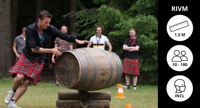 Workshop Haarlem: Highland Games XXL