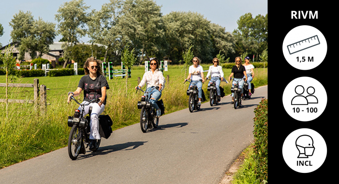 Actief teambuilding: Solex Tour door Waterland