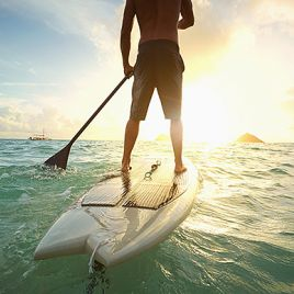 Stand Up Paddle Boarden - Suppen