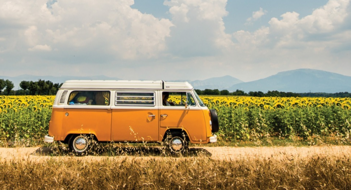 Workshop Wijk aan Zee: Volkswagen Bus Tour