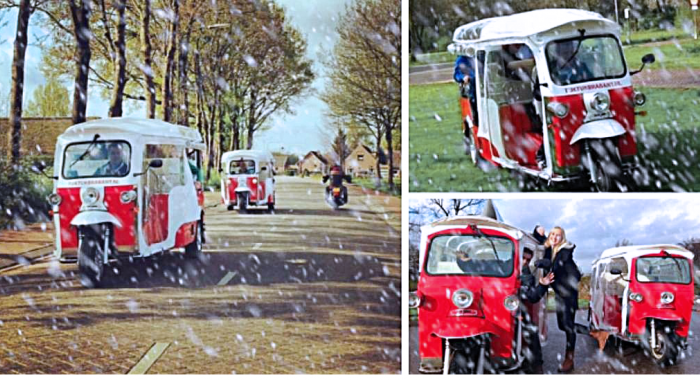 Gemotoriseerd: Tuk Tuk Winter Rally Biesbosch