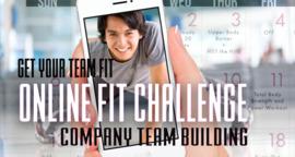 Online team fit challenge